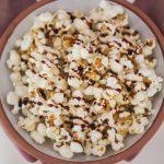 Karamell Zitronen-popcorn