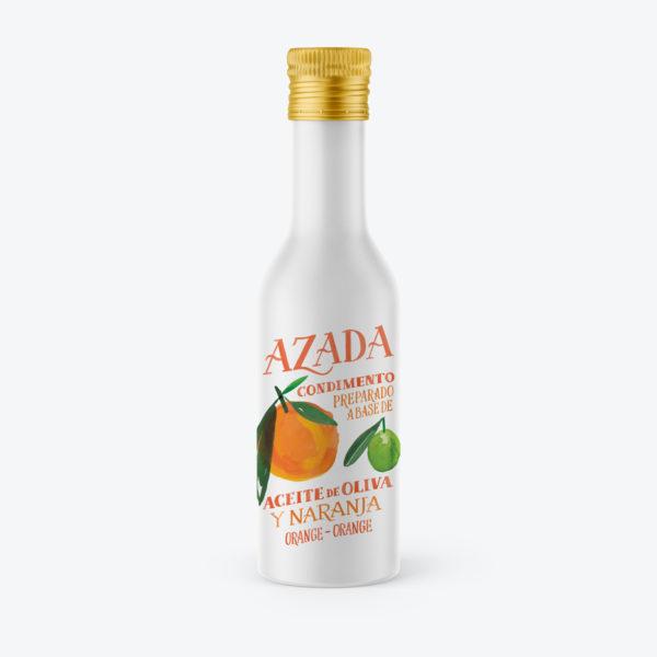 Aceite de oliva y naranja