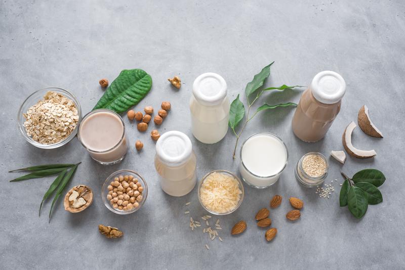 Entmystifizierung Pflanzlicher Milch