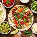 Gebackene Vegane Tacos mit Molesauce und Azada Olivenöl