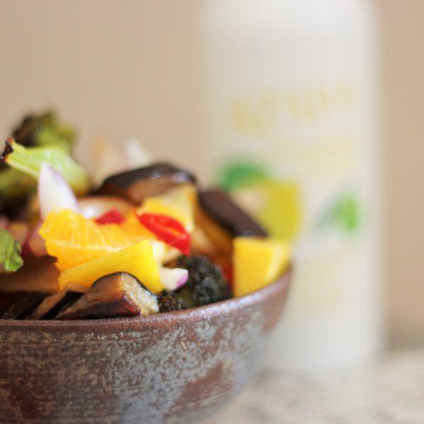 Bimi-Salat mit Asiatischem Dressing